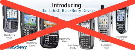 Latest blackberry devices