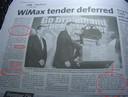 Wimax tenders malaysia article star news august 2006
